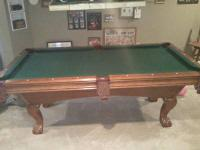AMERICAN HERITAGE  4X8 SLATE TABLE NEW 4500.00 PLUS