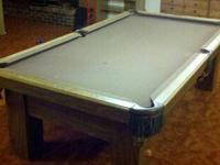 8 ft Golden West Billiard Pool Table for sale Pool