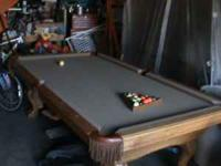 Pool Table for sale,good condition,must sell,$500 firm,