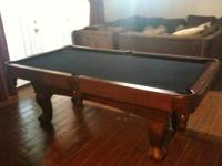 7 Foot Pool Table in Excellent Condition. Very Nice and