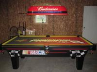 Olhausen Nascar Budwieser Dale Jr. 4' x 8' Pooltable.
