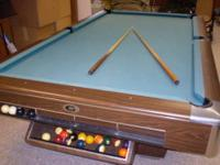 Yorkshire sportcaft pooltable great shape used a couple