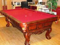 Beautiful Greenleaf Billards Pool Table in great