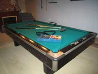 9' pool table (brand name coming) I am including all of