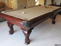 American Heritage pool table for sale.  This pool