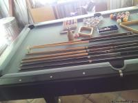 8ft Regulation Pool Table with 1 inch Slate (Very