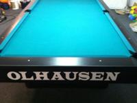 Selling a 4.5 x 9 Olhausen Champ Pro pool table! It's