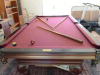 OLHAUSEN American made professional 8 ft table (