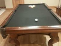 Moving Must Sell !!  American Heritage Pool table