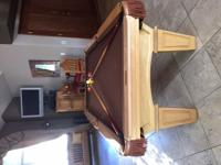"7' Connelly Billiards Pool Table 3/4"" Slate Top Comes"