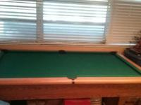 AMF Play Master Pool Table in good condition. $500 OBO