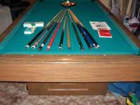 Windsor/ Brunswick Home Billiard Table, Model JF Seven'