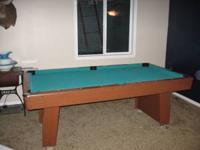Bought a 7' x 4' pool table from sears a few years ago.