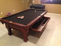 Brand-new 8ft. Ramsey Swimming pool Table by Imperial