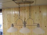 POOL TABLE HANGING LIGHT FIXTURE and/or SINGLE HANGING