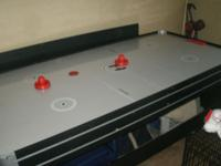 I have a pool table, hocket & pin pong.... Im asking