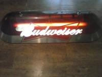 One Budwieser works. One side has the white panel