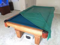 I am selling a 8' OLHAUSEN 3 piece slate pool table.