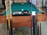 Pool Table, balls, triangle, nine-ball triangle, extra