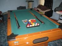 Mizerak pol table from Sears with Multi-game table,