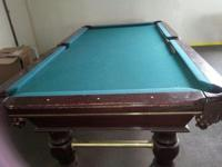 2 pool tables. Come over check them out, make me an