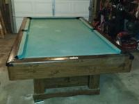 Pool Table. Good Condition.