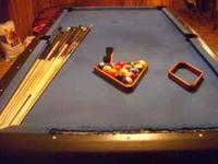 i have a regulation size pool table. comes with