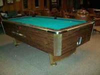 Pool Table in great condition for sale. Slate Top, Felt