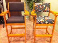 I have a total of 4 chairs. I AM ONLY SELLING 2. I