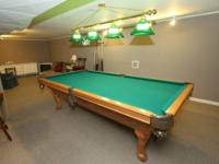 4 1/2' x 9' Artisan Georgetown Pool Table w/ Queen