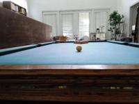 Must clear house! 9' Olhausen professional pool table