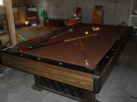 Moving! Need gone ASAP! I have a pool table for sale