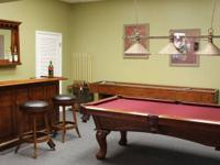 Billiard & Recreation room Furnishings Establishment.
