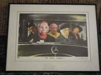 Signed art prints by Los Angeles pop artist Nelson De