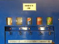 I have a nice 5 selection soda pop machine that works