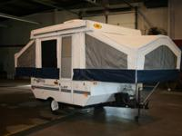 2000 Rockwood Freedom 1620 pop up camper with roof A/C.