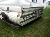 1980 jayco pop up in need of some tlc. Lifting system