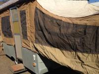 1982 Coleman Tent Trailer. (3rd owner) -Propane,
