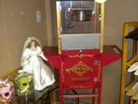 I have 2 popcorn machines for sale.  1 is small and 1