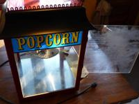 Commercial grade, Paragon popcorn machine, In very good