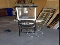 This is an awesome popcorn cart. It works well and