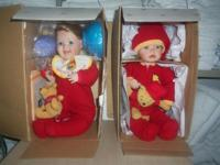 "3 Still NEW in the Box Porcelain Baby Dolls. by ""The"