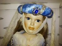 Limited Edition Mundia Porcelain Doll Dame Margot By