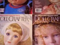 SELLING A COLLECTION OF DOLL MAGAZINES. NOT ALL OF THE
