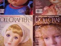 A COLLECTION OF PORCELAIN DOLL MAGAZINES FOR SALE. NOT