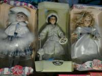 Porcelain dolls for sale. All atleast 15years old, some