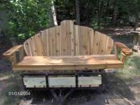 If you are looking for a well made porch swing or