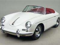 1961 Porsche 356B Roadster VIN: 89223 Engine: 605054