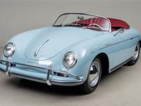 1958 Porsche 356 Speedster VIN: 84095 Numbers matching