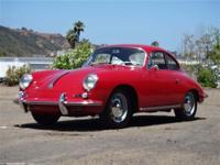 This 1962 Porsche 356 B 2dr Super 90 Coupe features a